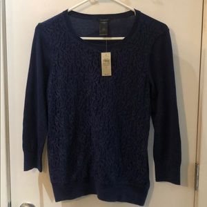 Ann Taylor lace sweater
